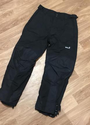 Классные горнолыжные штаны (горнолыжки) от jack wolfskin gore-tex