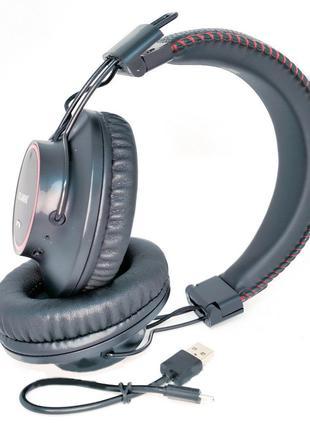 Беспроводные наушники Atlanfa AT-7617 Bluetooth с плеером и FM