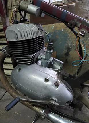 Двигатель Ява 360, запчасти Ява 360 старушка