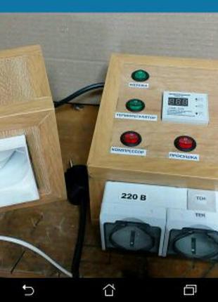 Блок управления коптильной камерой