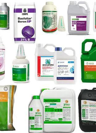 Средства защиты растений: фунгицид, гербицид, фумигант, зооцид
