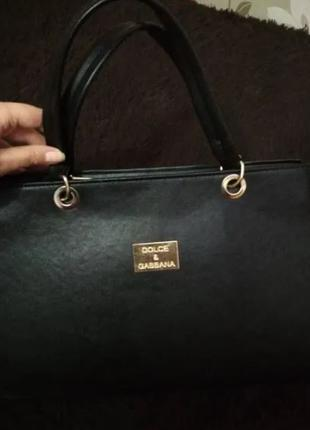 Сумка Dolce & Gabbana черная