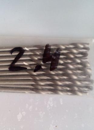 Сверло по металлу 2,4 мм (уп 10 штук)
