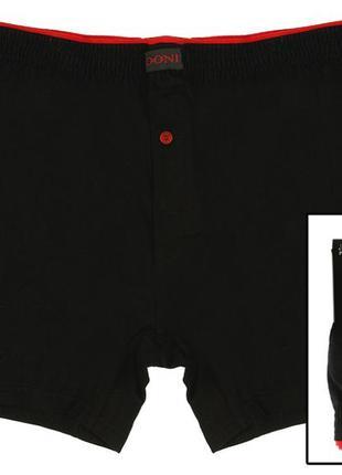 Трусы мужские черные, размер l