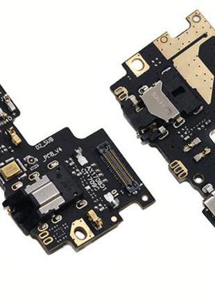 Шлейф Xiaomi Mi A1/Mi5X нижняя плата с разъемом наушников