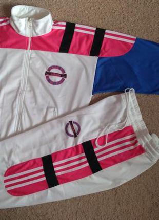 Костюм винтаж adidas d4 адидас vintage xs спортивный мастерка ...