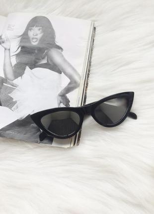 Очки, окуляри, имиджевые очки, стильные очки, кошачий глаз, че...
