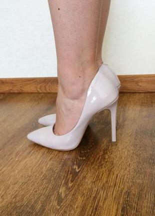 Туфли, туфлі, натуральная кожа, натуральна шкіра, лиловые