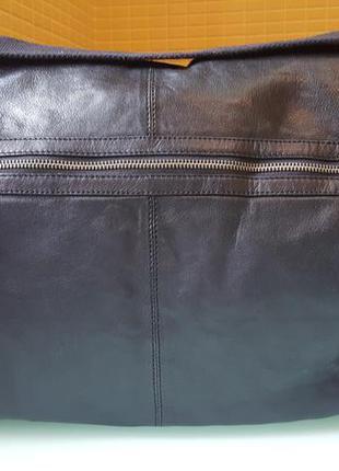 Большая кожаная сумка autograph