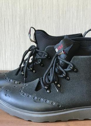 Мужские прорезиненные ботинки psyperia