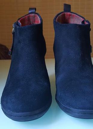 Замшевые ботиночки tommy hilfiger original