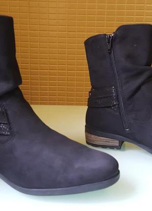 Модные женские кожаные ботинки