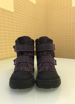 Зимние детские ботинки ecco