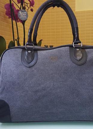 Мужская дорожная фирменная сумка troop