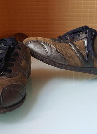 Стильные туфли ecco original кожа