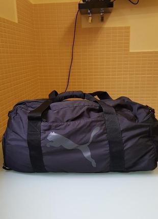 Стильная мужская дорожная сумка puma оригинал
