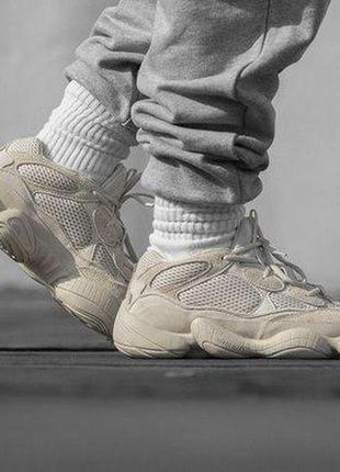 Топовые кроссовки adidas yeezy 500 blush