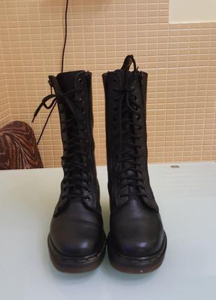 Женские кожаные ботинки dr.martens оригинал
