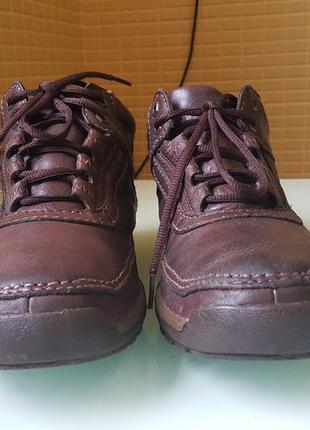 Спортивные демисезонные мужские ботинки clarks gore-tex