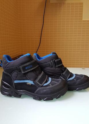 Зимние детские ботинки ecco original