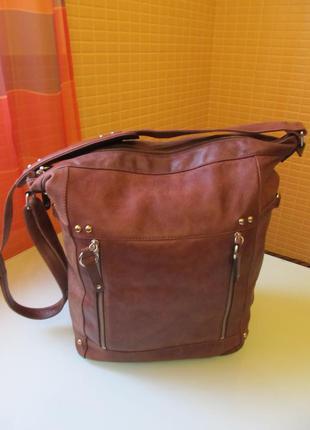 Модная женская сумка кожа