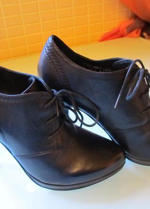 Модные женские туфли 5th avenue кожа