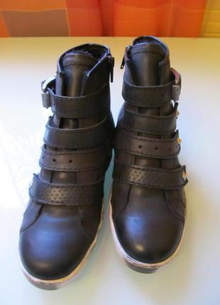 Стильные женские ботинки josef seibel кожа