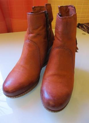 Стильные женские ботинки roberto santi кожа