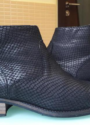 Кожаные женские ботиночки next