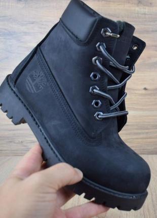 Мужские зимние ботинки timberland / тимберленд, натуральный ну...