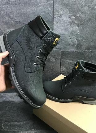 Мужские зимние ботинки, натуральная кожа! с 40 по 45