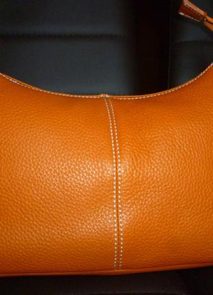 Стильная сумка из натуральной кожи vera pelle