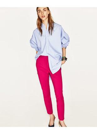 Mango брюки zara штаны с высокой талией леггинсы брюки smart c...