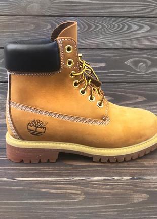 Ботинки timberland 6 inch premium  / тимберленд, натуральный н...