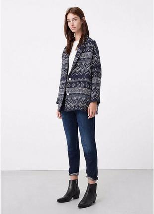 В стиле zara пальто mango жакет оверсайз пальто пиджак удлинен...
