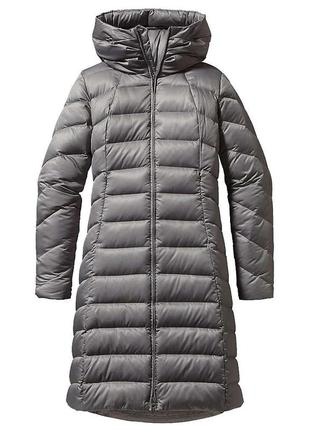 Длинная куртка длинное пальто пуховик длинный серое пальто с к...