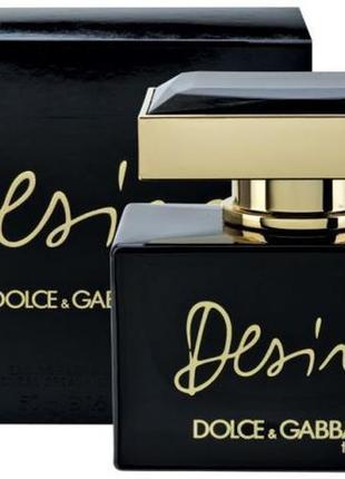 Духи dolce&gabbana desire the one туалетная вода парфюм дольче...