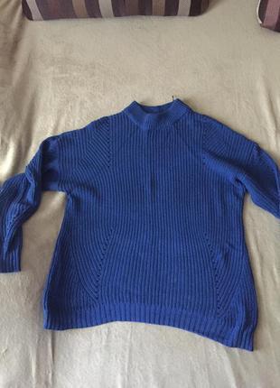 В стиле 70х свитер оверсайз vila свитер с высоким воротом кофт...
