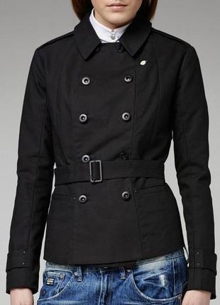 G-star raw двубортное пальто тренч ( куртка жакет пиджак burbe...