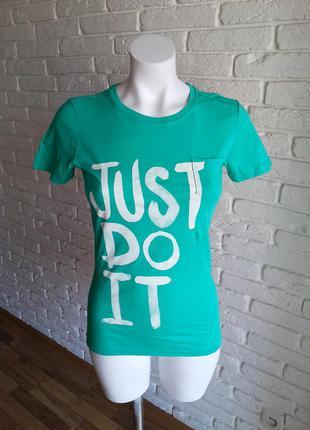 Nike just do it футболка 100% оригинал