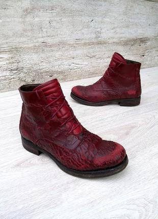 I.n.k. italy стильные и дерзкие дизайнерские ботинки ручной ра...