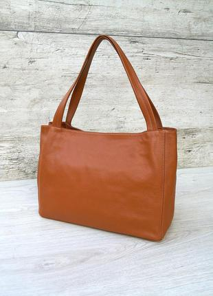Designer selection milano большая и вместительная кожаная сумка