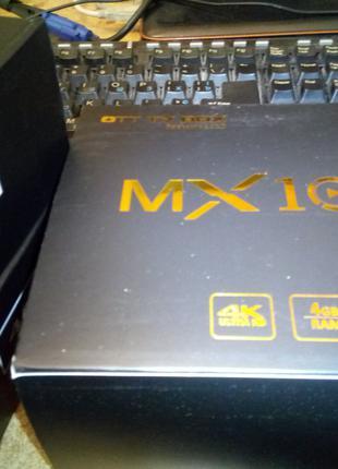 TV Box ТВ приставка MX10 ОЗУ 4GB(DDR4)/32Гб RK3328 Android 9.0