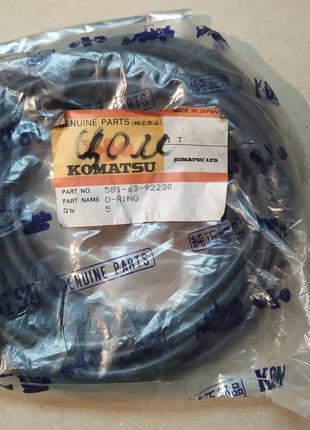 Уплотнительное кольцо (5шт) KOMATSU 581-63-92230