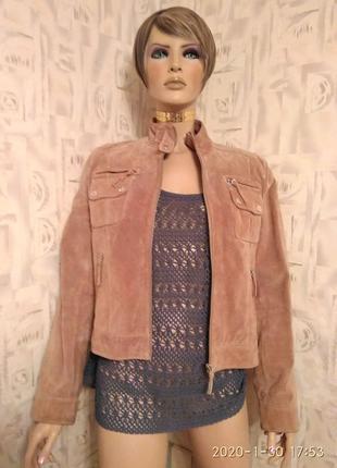 Женская куртка VERA PELLE Conbipel S.P.A. натуральная кожа/замша