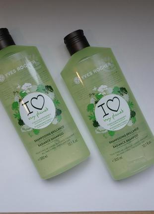 Эко-шампунь для блеска волос с  экстрактом лимона  ив роше