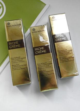 Восстанавливающее масло riche creme -  ив роше yves rocher риш...