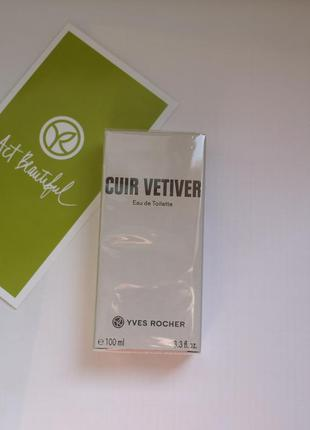 Cuir vetiver-100 мл-кюр ветивер-туалетн. вода ив роше Yves Rocher