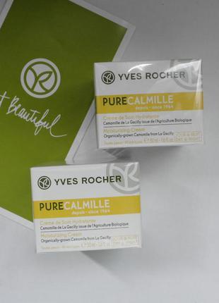 Увлажн. успокаивающий крем ромашка-pure calmille ив роше Yves Roc