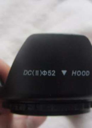 Бленда 52 мм к фотоаппаратам Nikon D3200 D5200 D5300 D3300